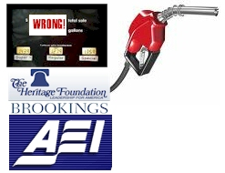 The AEI, Heritage, Brookings Policy Pump