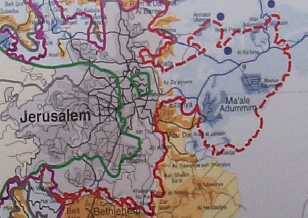 Israeli Plan for Control over the West Bank